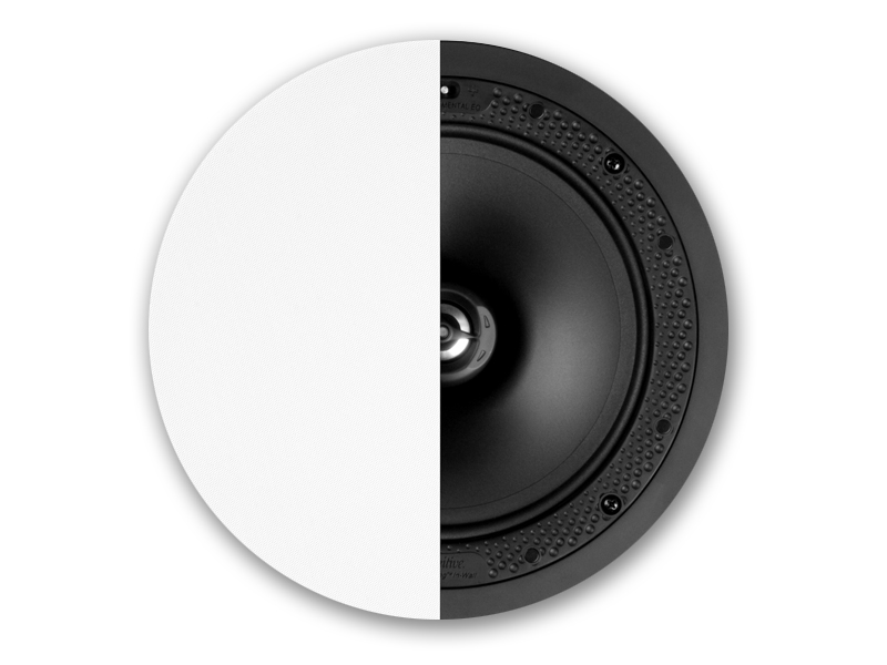 Definitive Technology DI 8R Disappearing 8 Inch Round In Ceiling Speaker Each