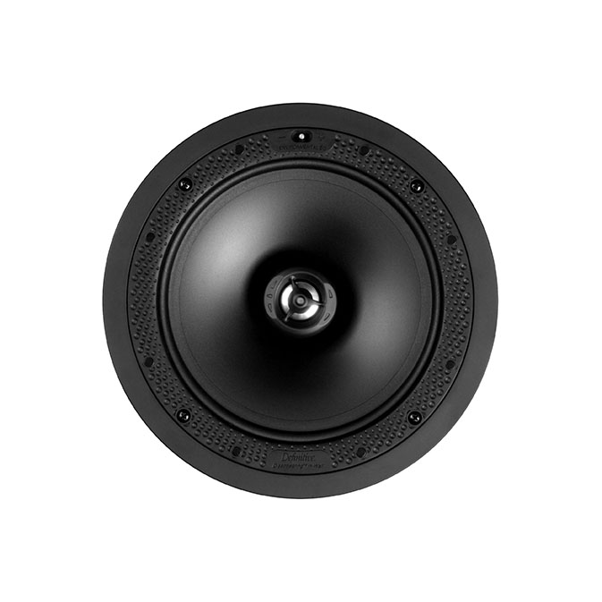 Definitive Technology DI 8R Disappearing 8-inch Round In-Ceiling Speaker - Each-1697
