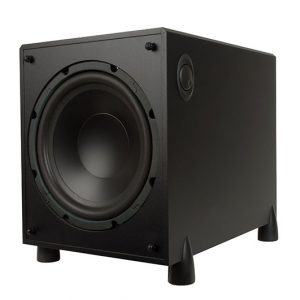Definitive Technology ProSub 1000 High Output Compact Powered Subwoofer (Black)