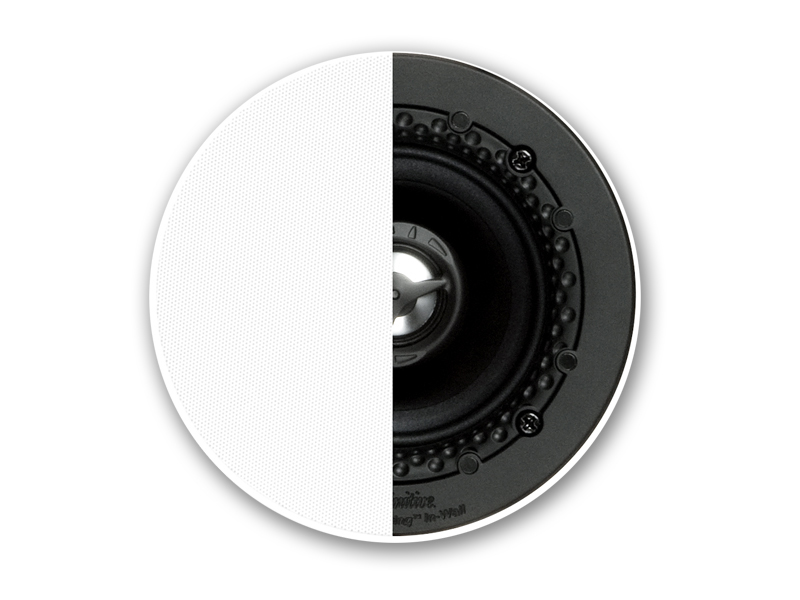 Definitive Technology DI 3.5R Disappearing 3.5-inch Round In-Ceiling Speaker - Each-0
