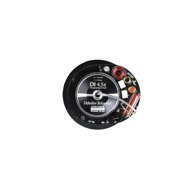 Definitive Technology DI 4.5R Disappearing 4.5-inch Round In-Ceiling Speaker - Each-1722