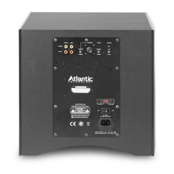 "Atlantic Technology 224SB 10"" Powered Box Subwoofer-4555"