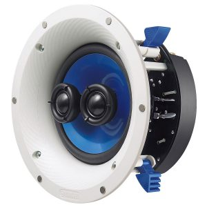 Yamaha NS-ICS600WH Single Stereo In-Ceiling Speaker with 6.5 inch Woofer – (Each)