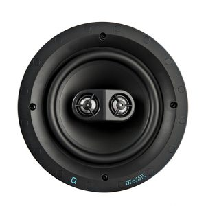 Definitive Technology DT6.5STR In-Ceiling 6.5 Inch Stereo or 2 way Surround Speaker – Each