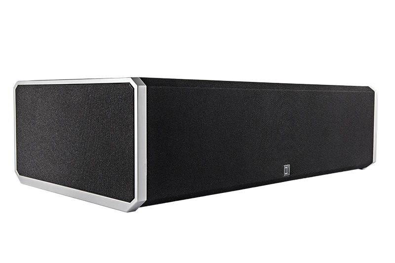 Definitive Technology CS9080 Center Channel Speaker with Integrated 8 inch Powered Subwoofer and Bass Radiator-4937