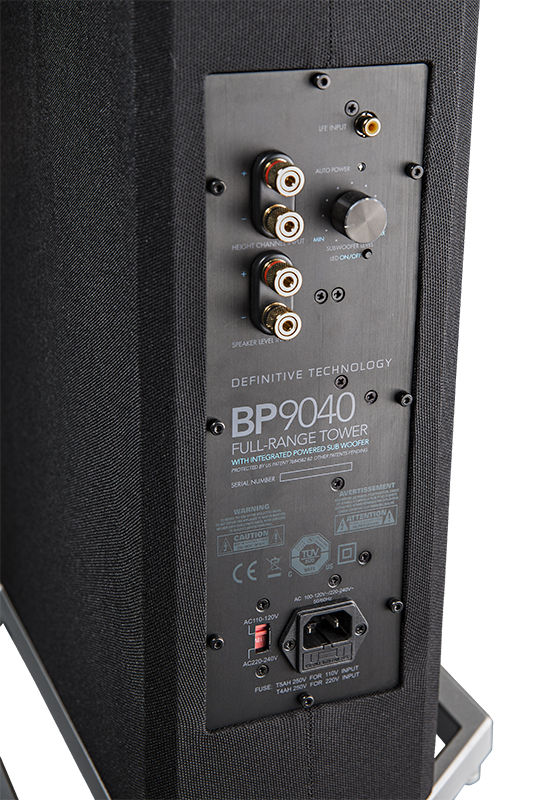Definitive Technology BP9040 Tower Speaker with Integrated 8 inch Powered Subwoofer (Each)-4928