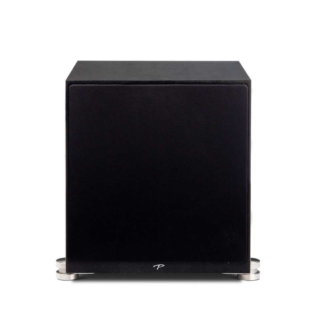 "Paradigm Prestige 1000SW 12"" Driver Sealed Enclosure with Built-in Ultra-Class D Power Amplifier-5369"