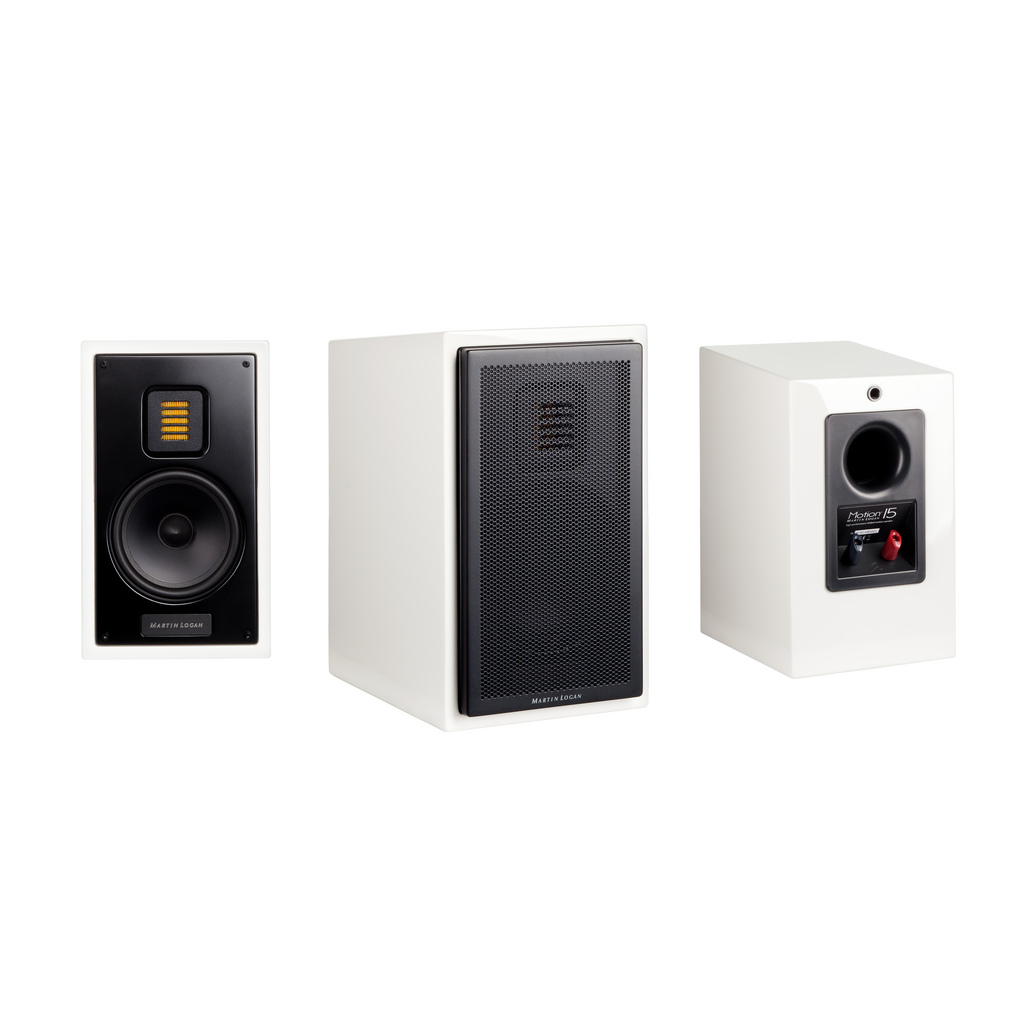 Martin Logan Motion 15 5 1 4 Inch 2 Way Bookshelf Speaker Each