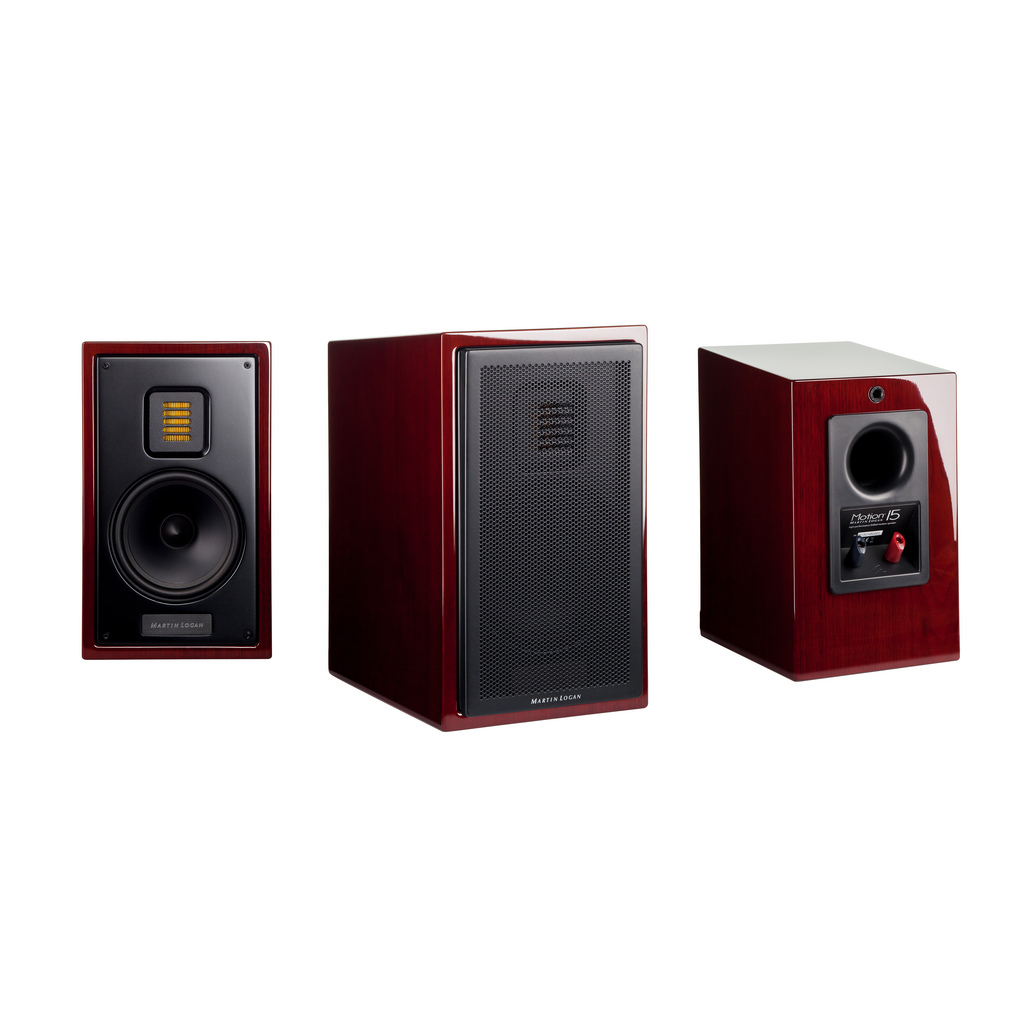 Digital Designs 15 Z Series Subwoofer Z315: Martin Logan Motion 15 5-1/4 Inch 2-Way Bookshelf Speaker