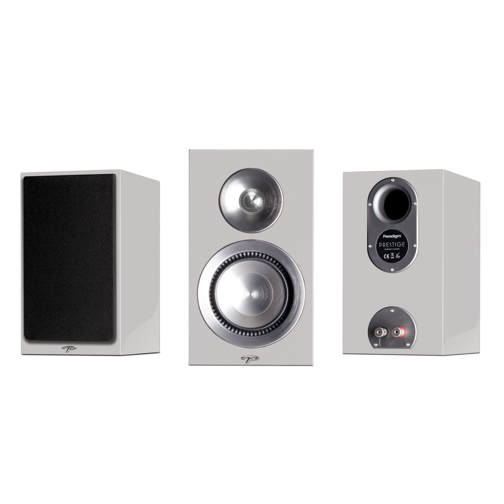 Paradigm Prestige 15B Reference 2 Driver Way Bookshelf Speaker White Each