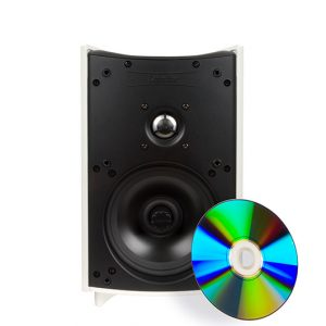 Definitive Technology ProMonitor 1000 Compact On-Wall or Bookshelf Speaker – Each