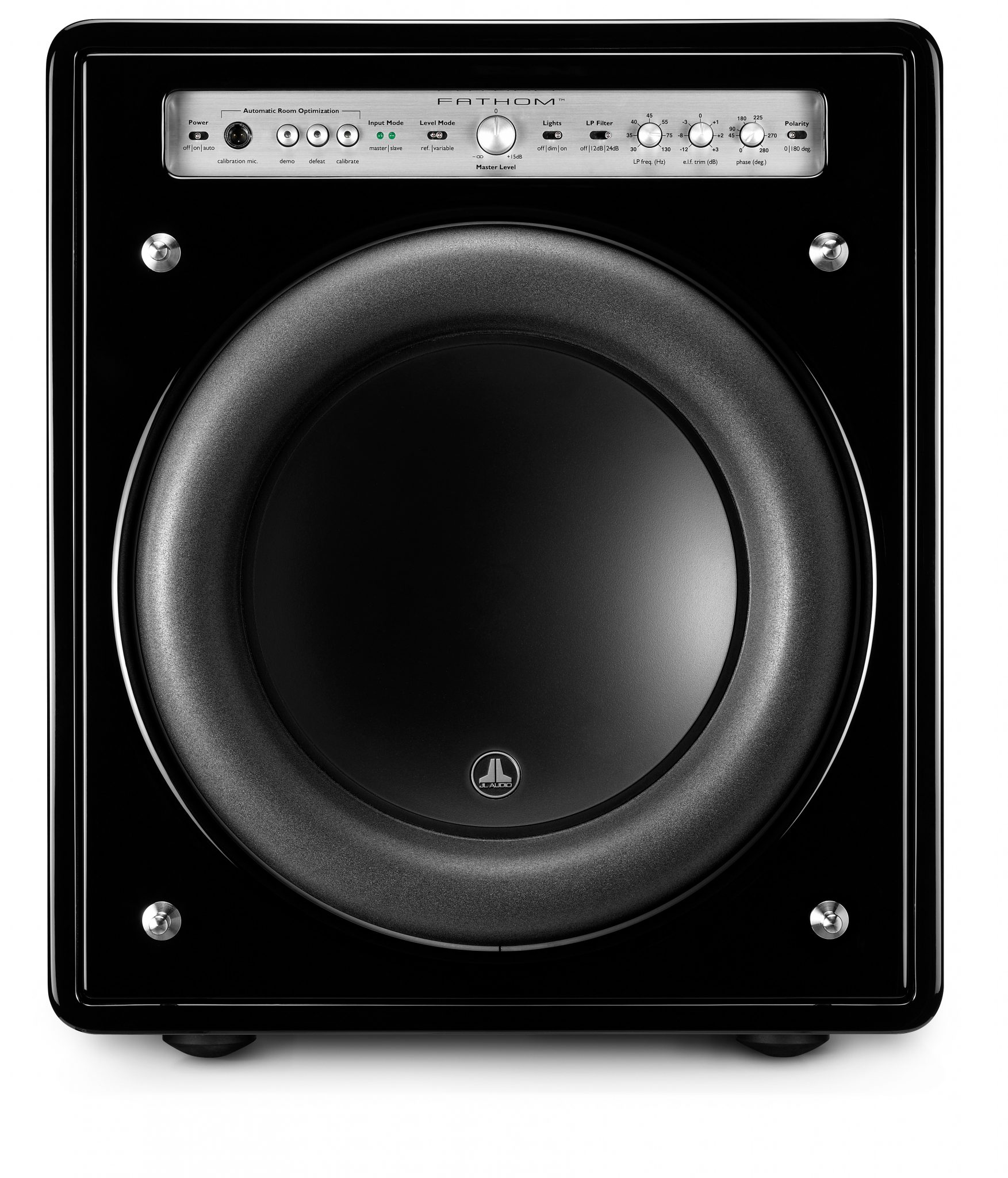 JL Audio Fathom F112 v.2 12-inch Powered Subwoofer (Gloss Black)-6846