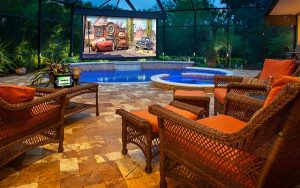 Read more about the article Four Tips For Your Perfect Outdoor Home Theater Setup