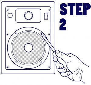 Install in-ceiling speakers easily, here's how!
