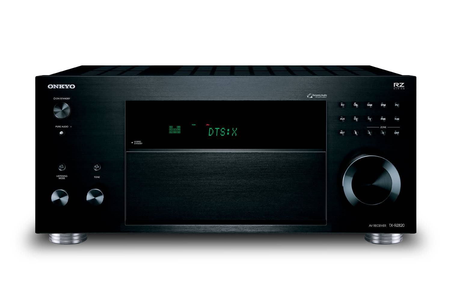 Onkyo tx rz820 7 2 channel network a v receiver designer for Onkyo or yamaha receiver