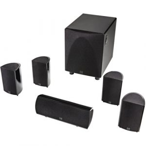 Definitive Technology Pro Cinema 6D 5.1 Channel High-Performance Compact Surround Sound System